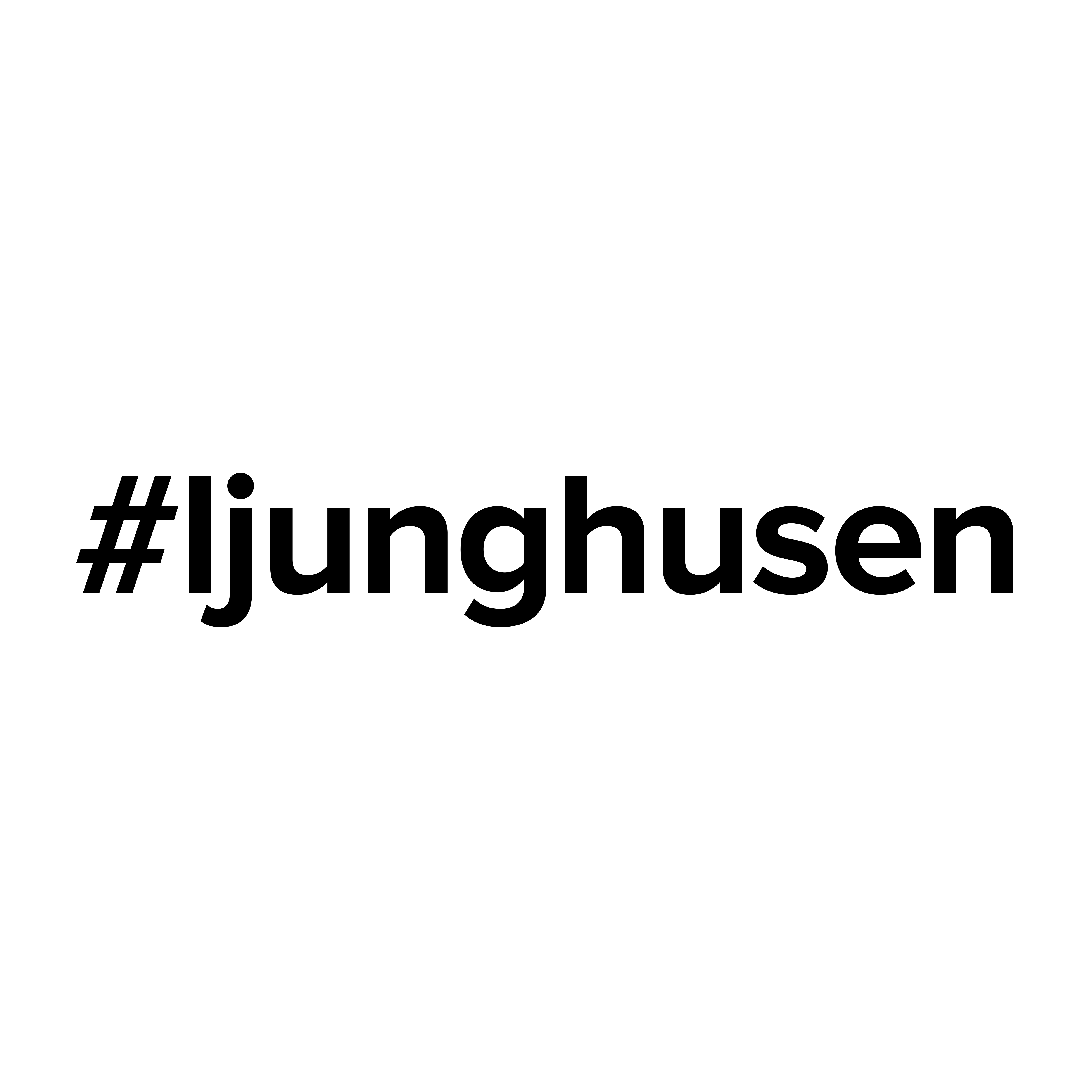 Logo #ljunghusen Ljunghusen @ljunghusen